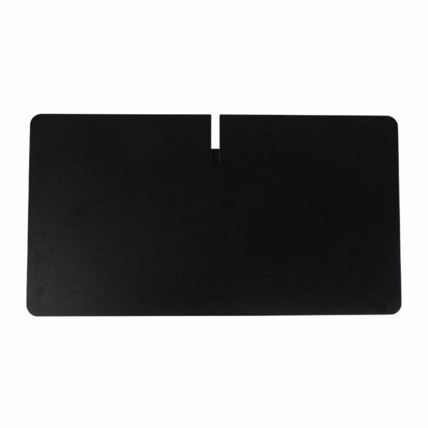 WK Wohnen Edition 9302 Beistelltisch aus Metall in Schwarz zeigt Tischplatte im Detail.