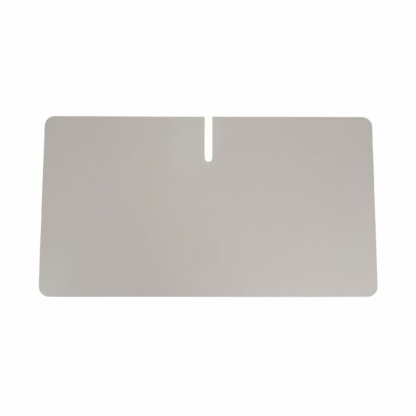 WK Wohnen Edition 9302 Beistelltisch aus Metall in Weiß zeigt Tischplatte im Detail.