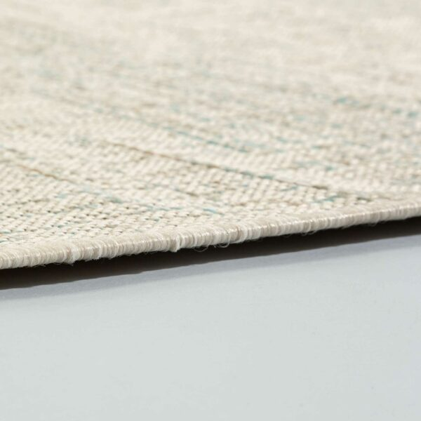 Astra Imola Design 201 in aqua – Detail Kante