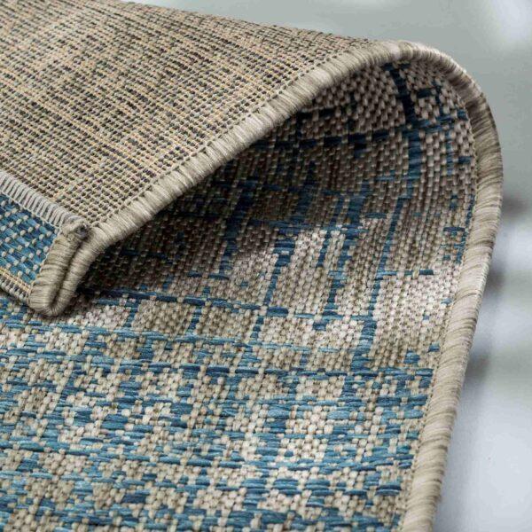 Astra Imola Design 201 in blau – Detail Ecke
