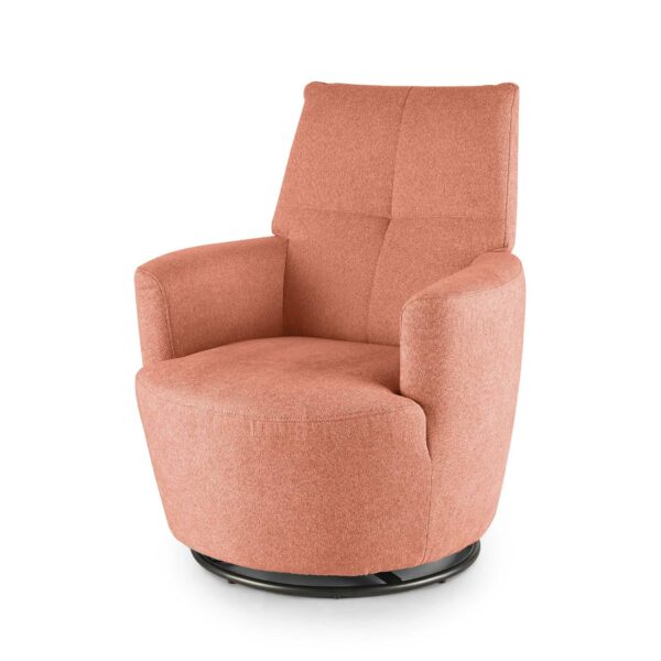 set one by Musterring Sessel SO 1450 in antique pink seitlich