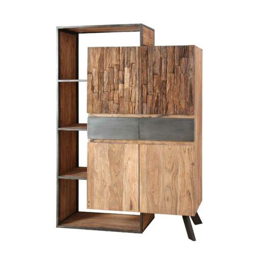Trendstore Warin Highboard mit 4 Türen