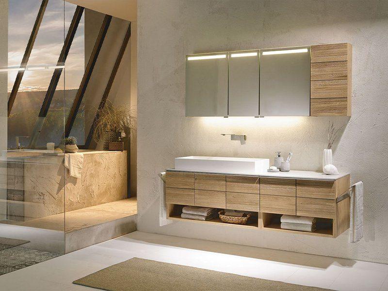 Voglauer Markenseite Produktinspiration V-Montana Badezimmer