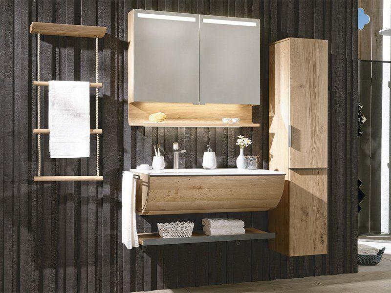 Voglauer Markenseite Produktinspiration V-Quell Badezimmer