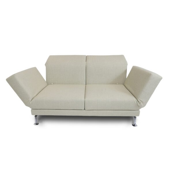 Brühl Moule medium 2-Sitzer Sofa in frontaler Ansicht.