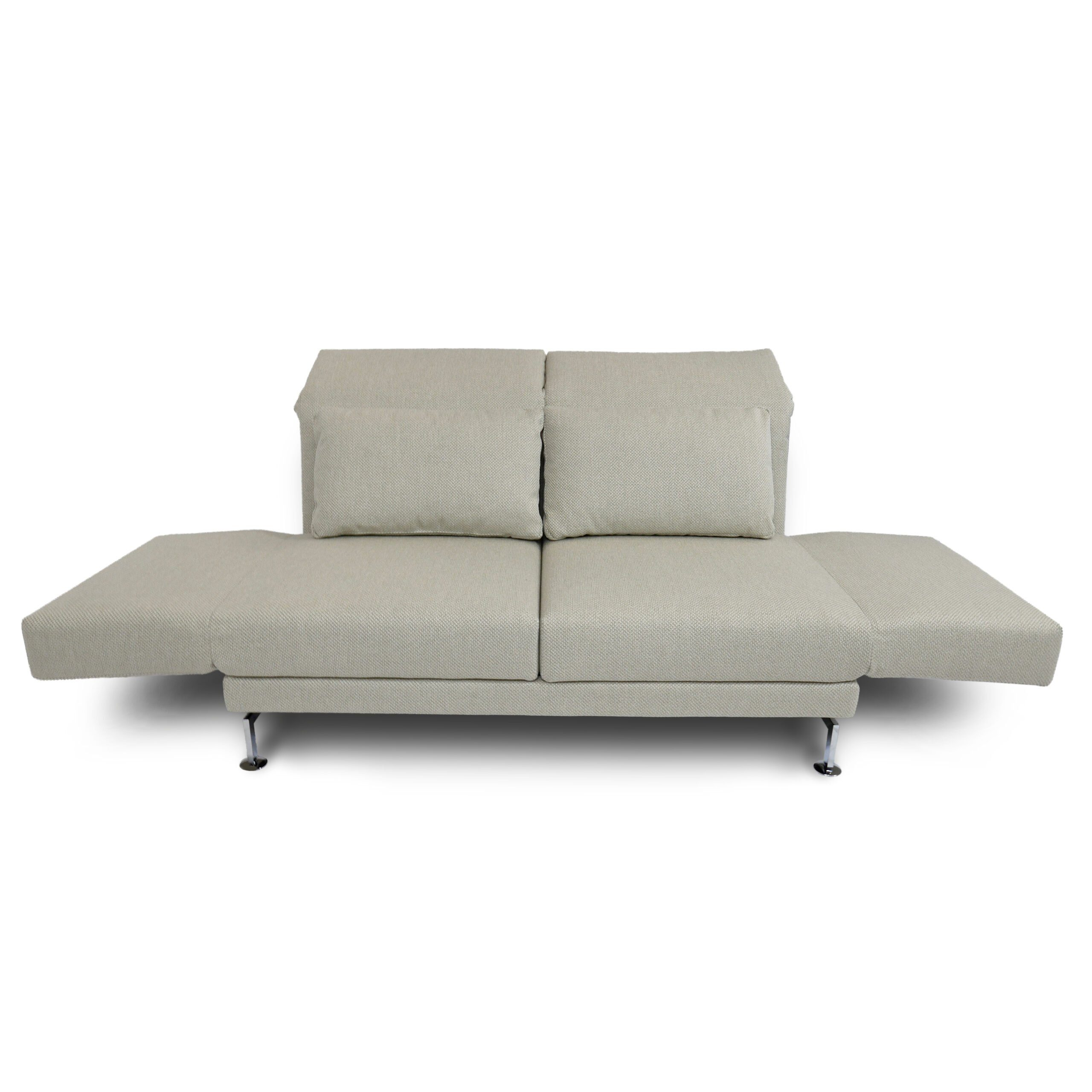 Bruhl Moule Medium 2 Sitzer Sofa In Wollweiss Wohnparc De