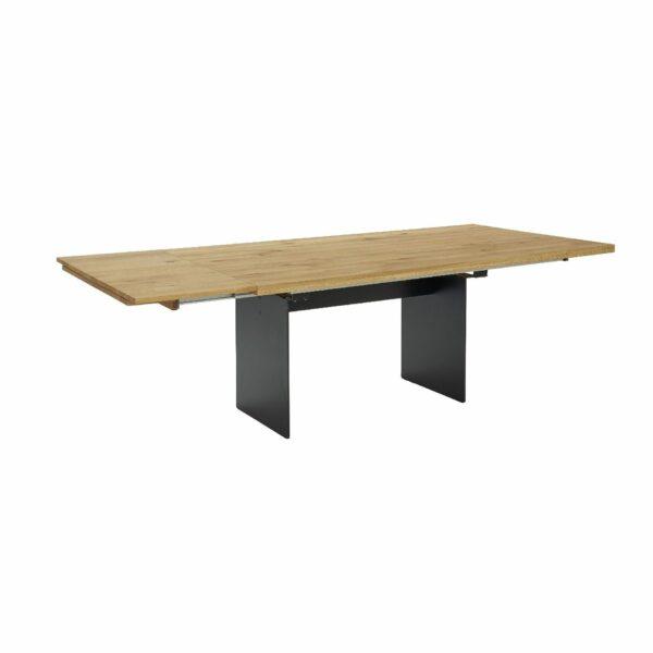 Contur Auszugstisch 3001 mit Wangenfuß und Tischplatte aus Eiche natur geölt