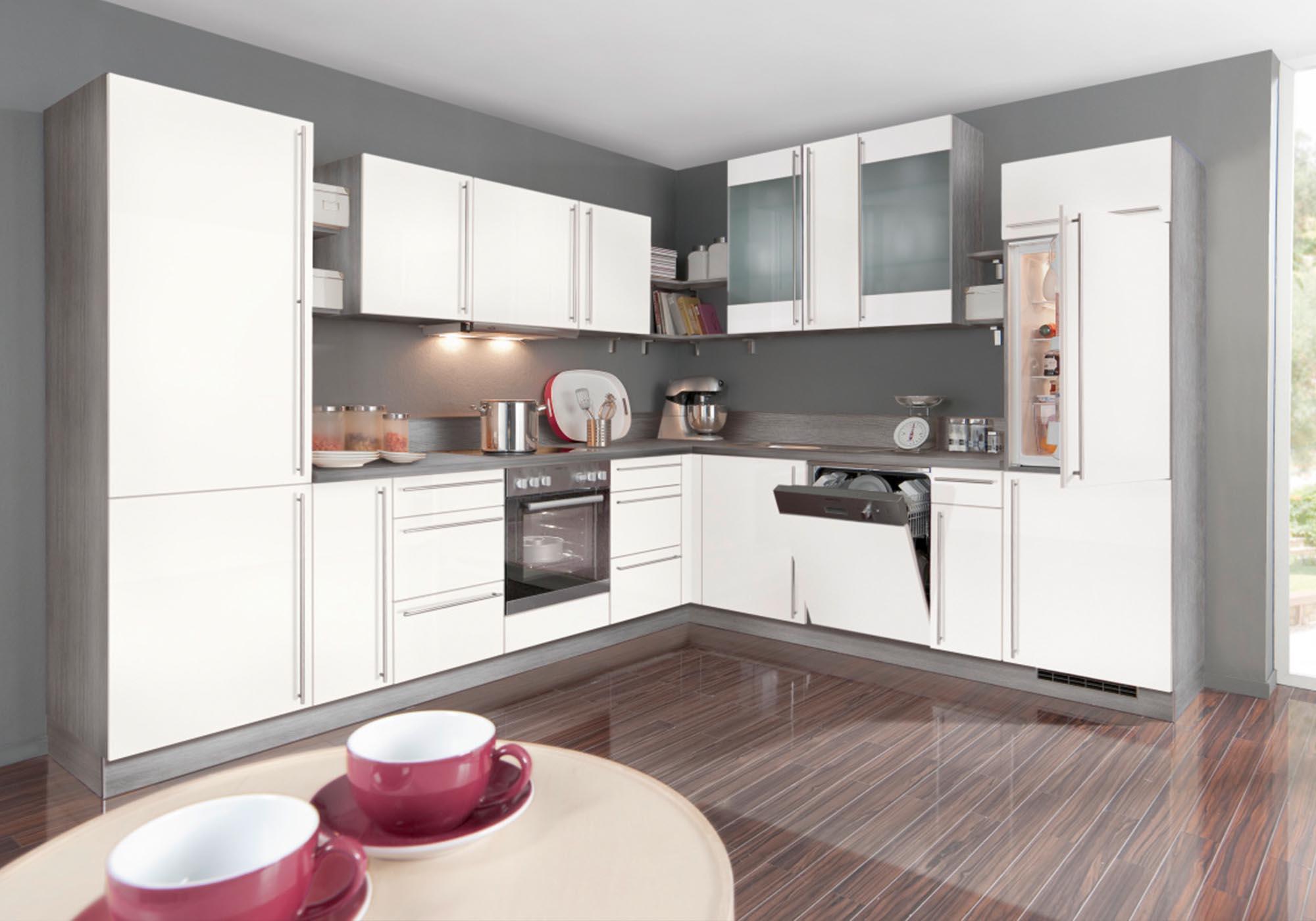 Küchen-Formen: L-Form Küchenbeispiel