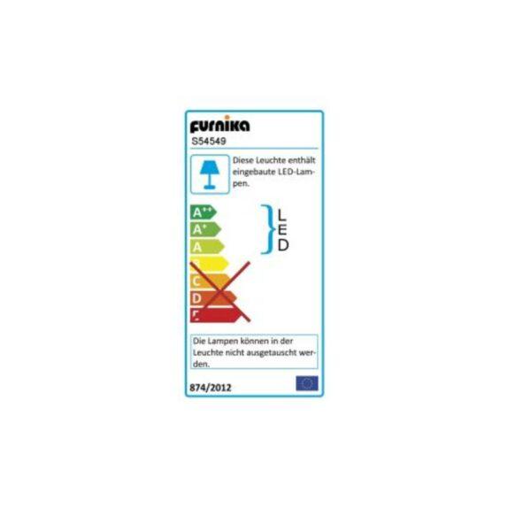 Trendstore Fayola Bett Energielabel für eingebaute Beleuchtung
