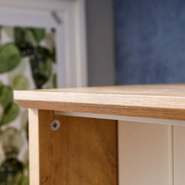Detail der Tischplatte von Trendstore Murani Mini Office