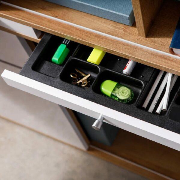 Detail der Utensilien Schublade von Trendstore Murani Mini Office