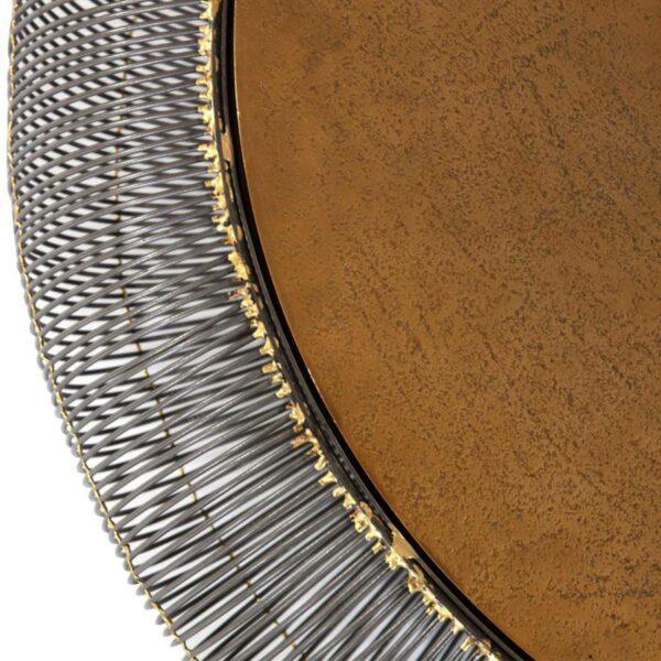 Comfort Republic Archie Couchtisch zeigt Tischplatte und Gestell im Detail.