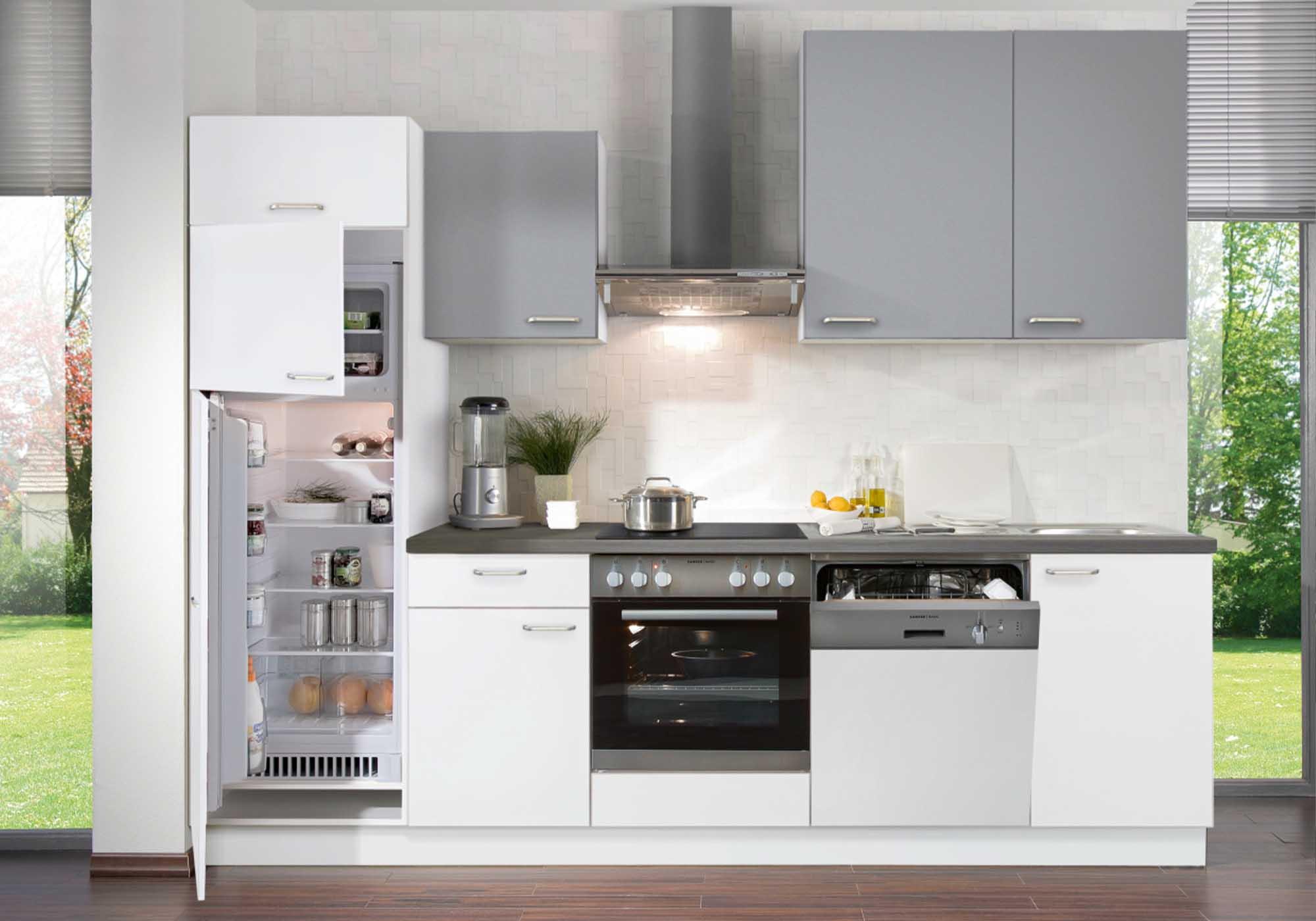 Küchen-Formen: Einzeilige Küche