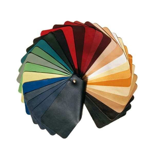 Lederfächer Farbauswahl.
