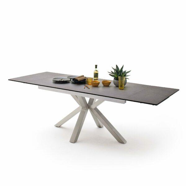 MCA Furniture Nagano Esstisch – mit Auszug und Deko