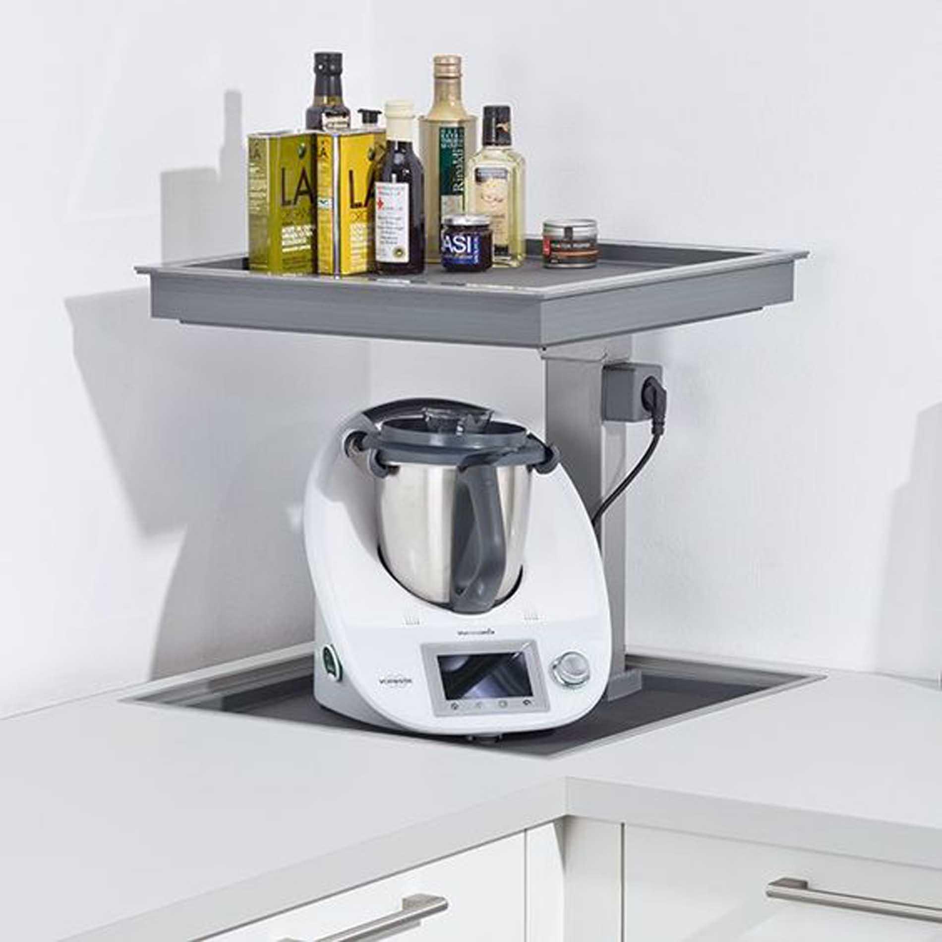 Schüller Küchen: integrierter Platz für Ihren Thermomix