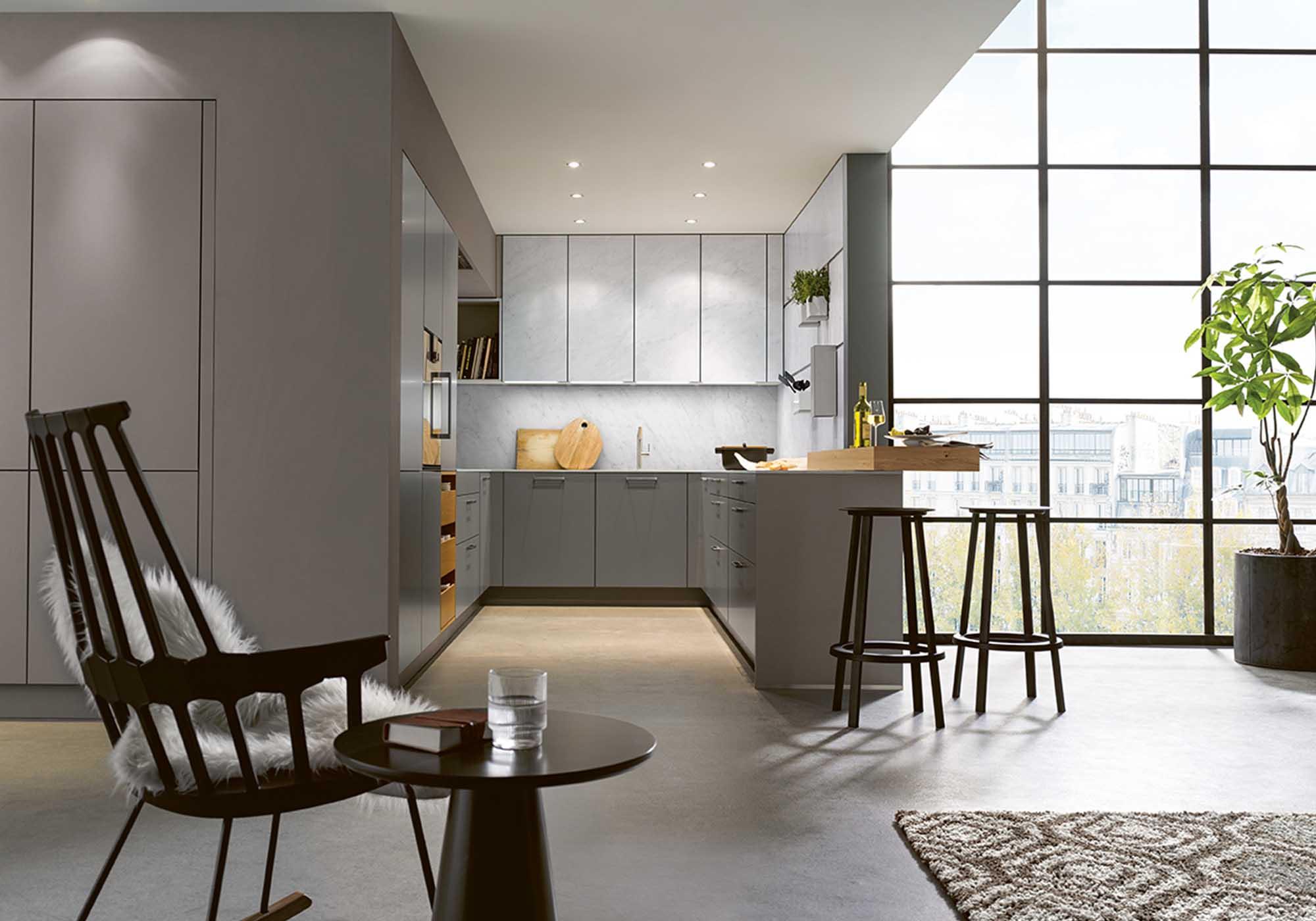 Küchen-Formen: U-Form Küchenbeispiel