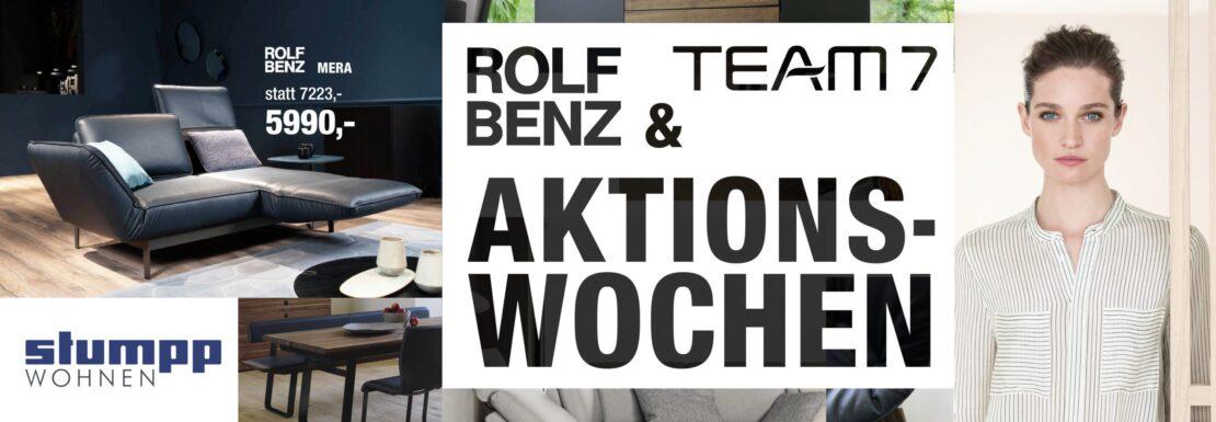 Rolf Benz & Team 7 Aktionswochen
