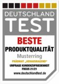 Deutschland Test - Beste Produktqualität