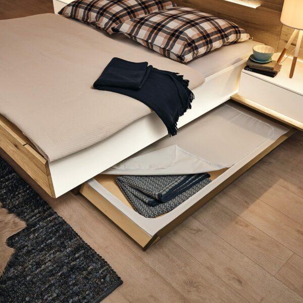 Musterring Jovanna Doppelbett Detailansicht Bettkasten.