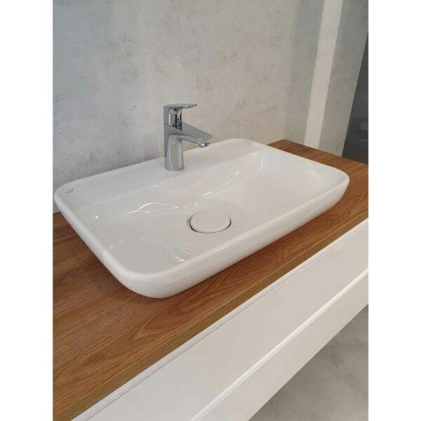Puris Varido Badprogramm zeigt Waschtisch Melbourne in Nahansicht.
