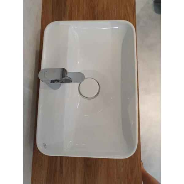 Puris Varido Badprogramm zeigt Waschtisch Melbourne von oben.