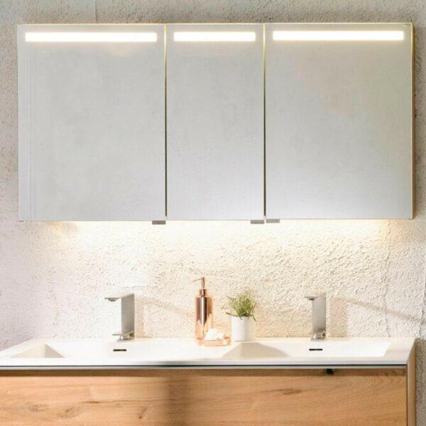 Voglauer V-Alpin Badprogramm Spiegelschrank LED-Beleuchtung