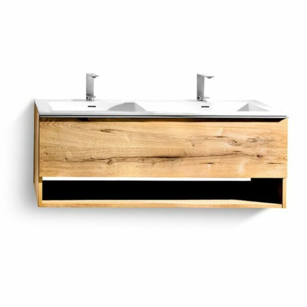 Voglauer V-Alpin Badprogramm Doppelwaschtisch mit Unterschrank