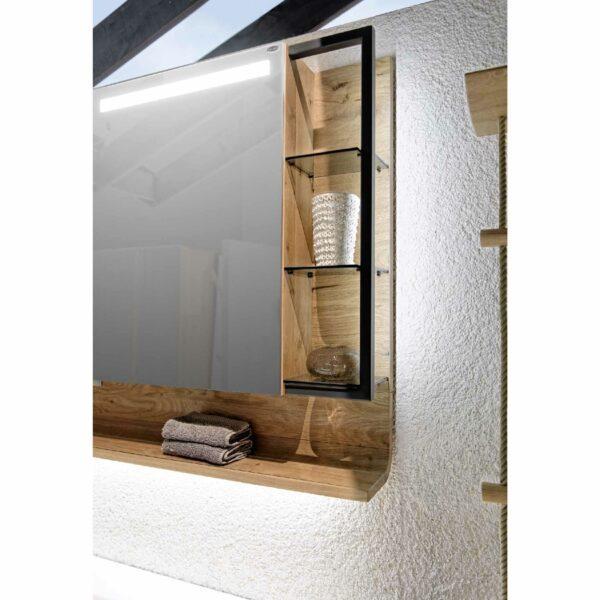 Voglauer V-Quell Badprogramm – Detail Regal Spiegelschrank