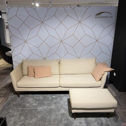 Contur Parenti Sofa 3-Sitzer mit Hocker