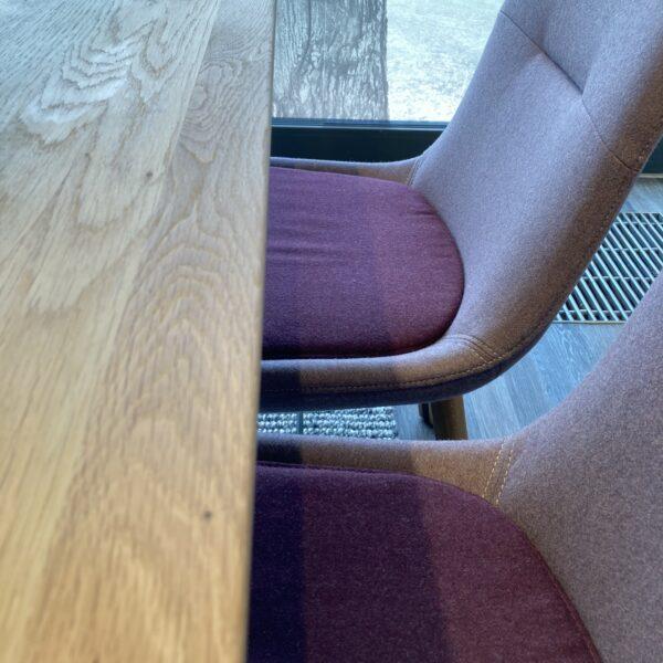 Wimmer Waldorf Essgruppe – Detail Tischplatte