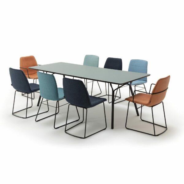 freistil by Rolf Benz Freistil 117 Stuhl – Wohnbeispiel