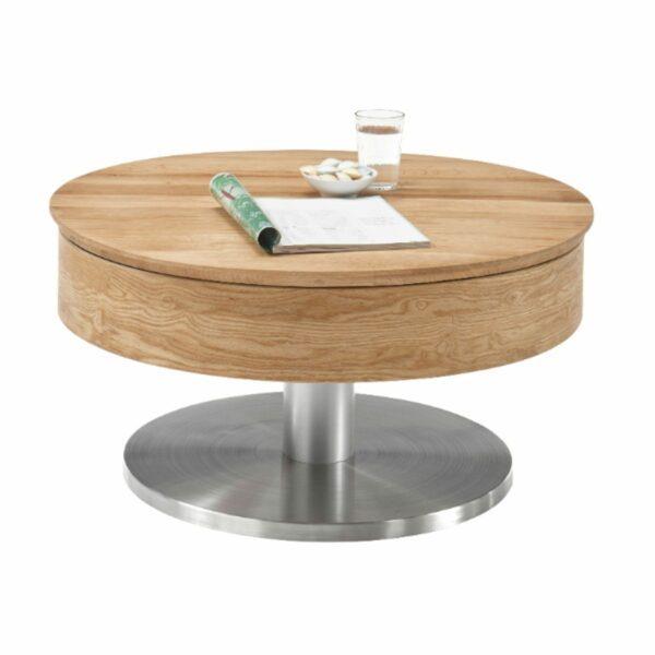 MCA Furniture Maivin Couchtisch mit Deko