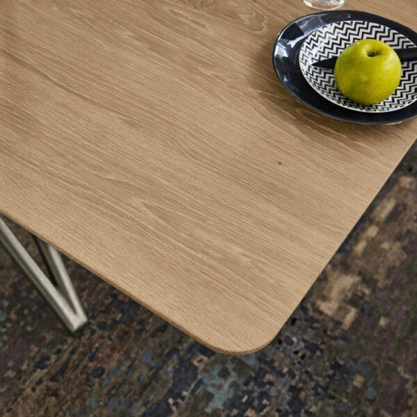 Musterring Helmond Esstisch - Nahaufnahme Tischkante