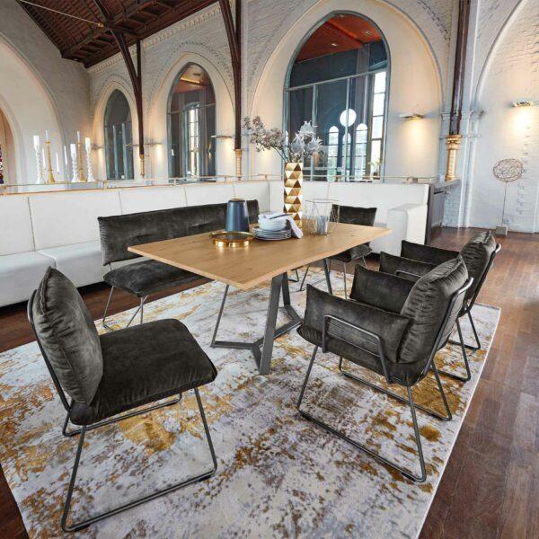 Wohnbeispiel: Musterring Pinero Esszimmerstühle und Sitzbank