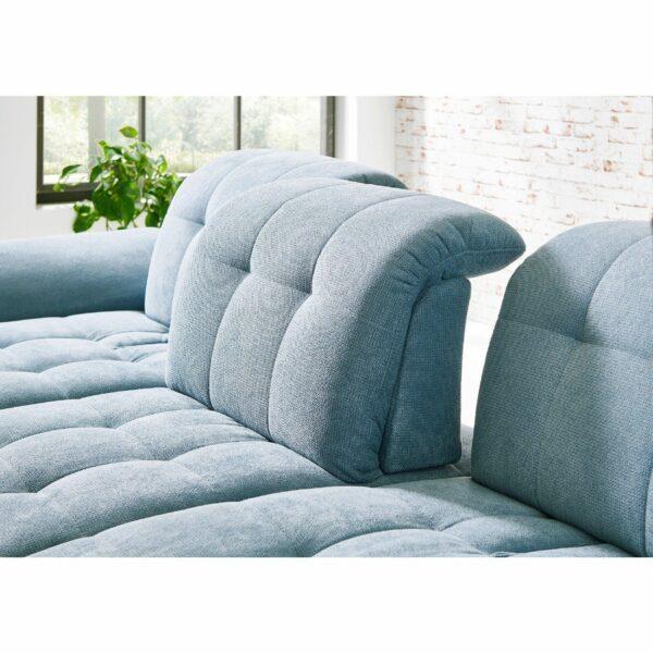 PlanSofa Samos Sofa in Detailansicht Rückenverstellung.