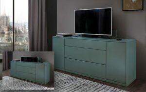 RMW Smart Living: TV-Lift im Sideboard integriert