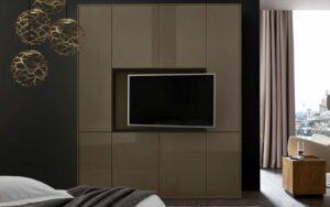 RMW Smart Living: Wandschrank mit TV Halterung