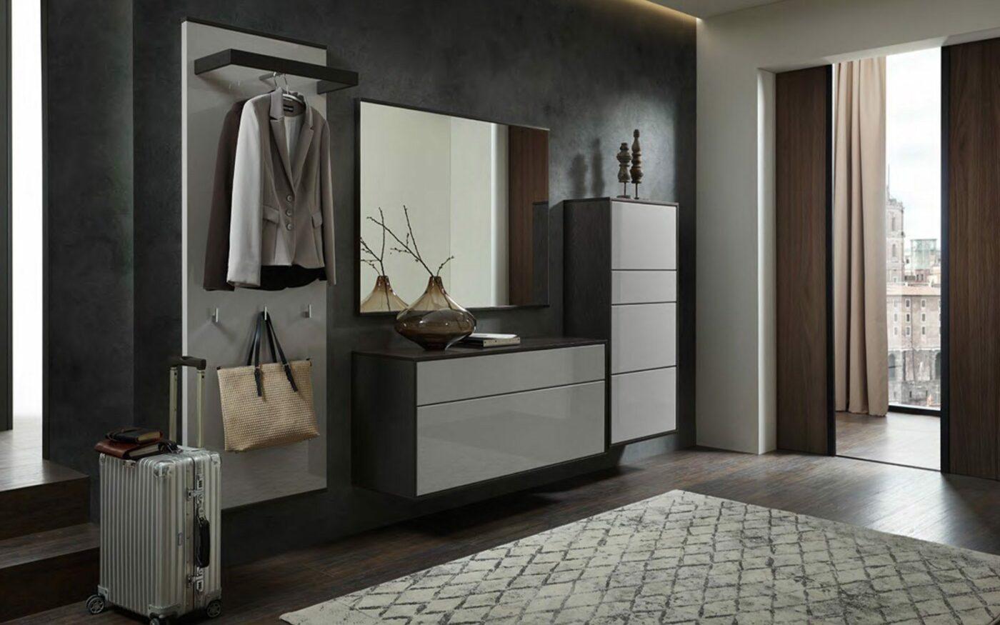 RMW Wohnbeispiel: Minimalistische Garderobe für Ihren Flur