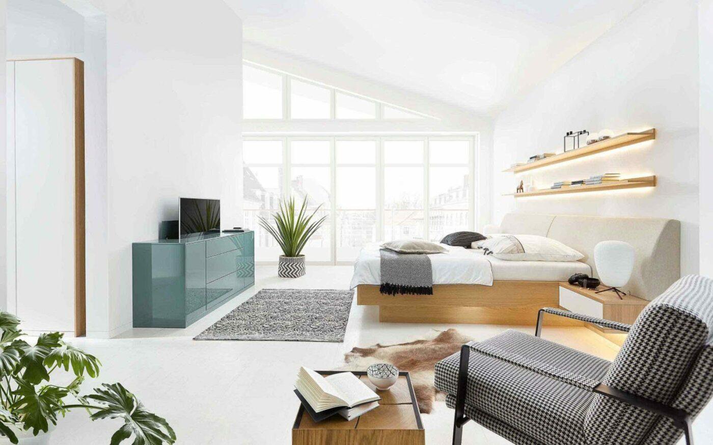 RMW Wohnbeispiel: Skandinavisches Schlafzimmer