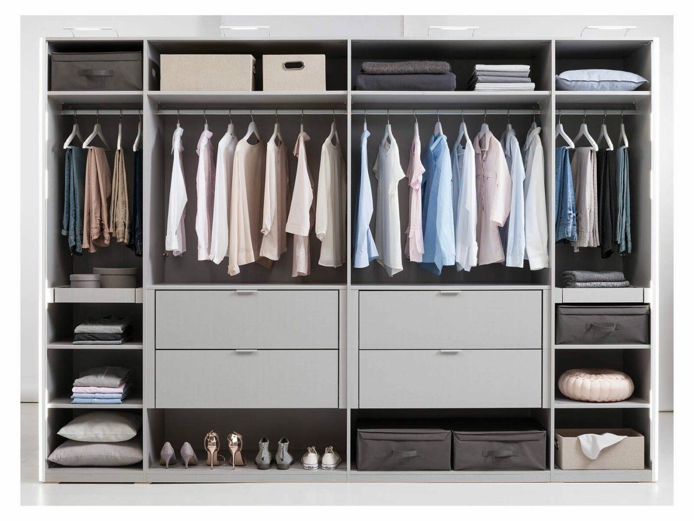 Express Kleiderschranksystem - Individuelle Inneneinteilung