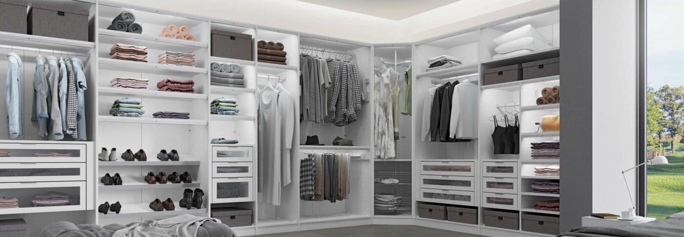 Jutzler Kleiderschranksystem - Planungsbeispiel