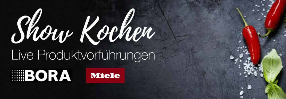 Live Koch-Veranstaltung: BORA & Miele