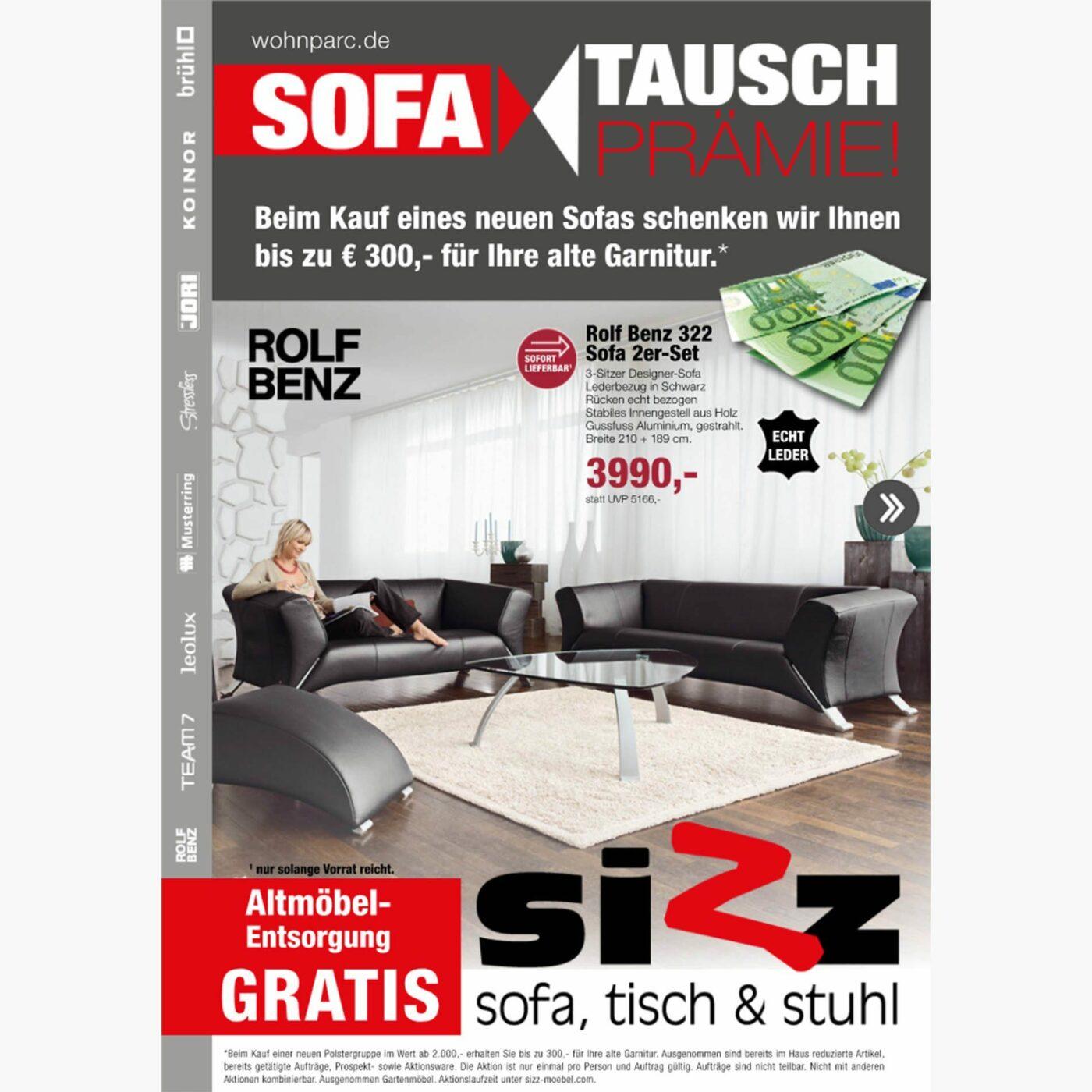 Titelseite Sofa Tausch Prämie