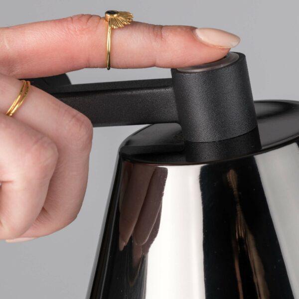 Raum.Freunde Lub Tischleuchte – Detail Sensor Leuchtkopf