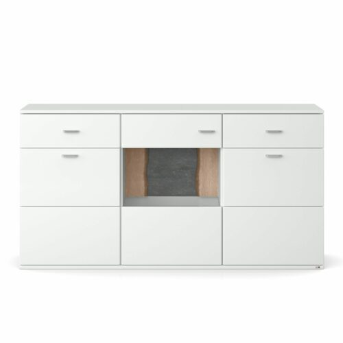 set one by Musterring Tacoma Sideboard 53-A in Arctic weiß