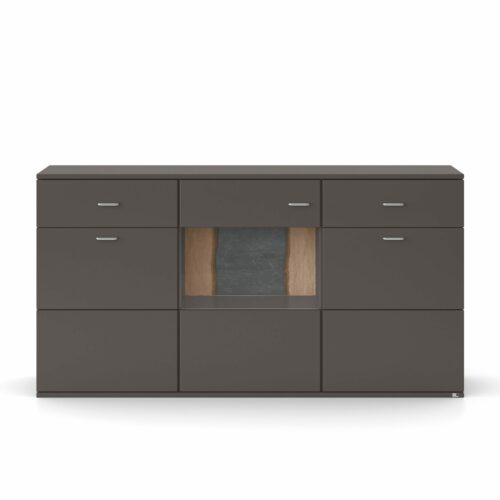 """set one by Musterring """"Tacoma"""" Sideboard Typ 53-B in Grafit"""