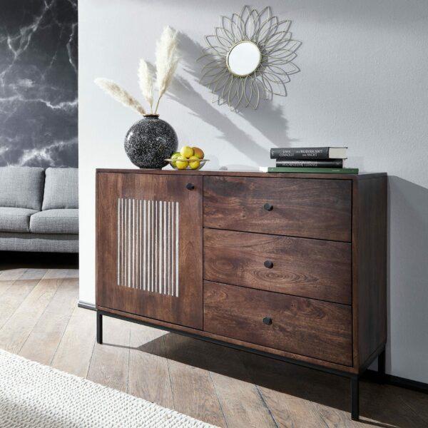 Trendstore Gaio Sideboard 110 cm – Wohnbeispiel