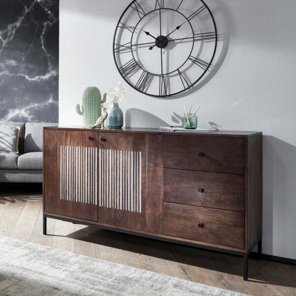 Trendstore Gaio Sideboard 145 cm – Wohnbeispiel