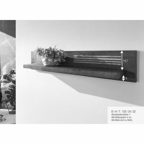 Trendstore Gaio Wandregal 120 cm – Maße